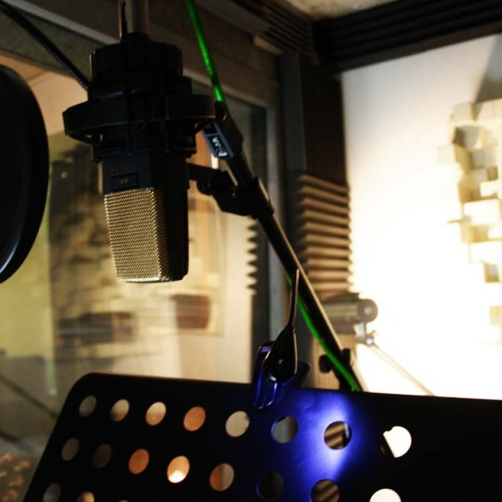 Studio Vocal Booth